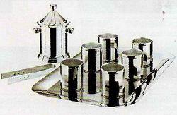 Кинг - комплект на 6 персон посеребренный