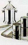 Кинг - комплект на 6 персон стальной