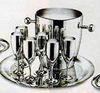 Ла Перле - Комплект на 6 персон стальной
