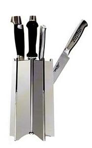 Подставка для ножей металлическая