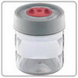 Емкость цилиндрическая малая пластмасс. диам. 11, выс. 13 см-0,65 л