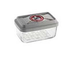 Стеклянный контейнер прямоугольный средний 21х13х8,5 см -1,3 л